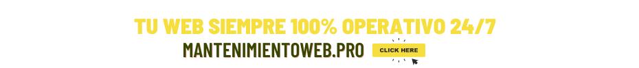 servicio mantenimientoweb.pro